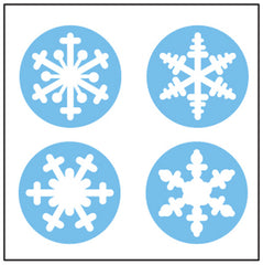 Incentive Stickers - Snowflake