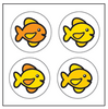 Incentive Stickers - Fish (Pack of 1728) - Creative Shapes Etc.