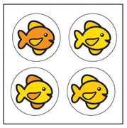 Incentive Stickers - Fish - Creative Shapes Etc.