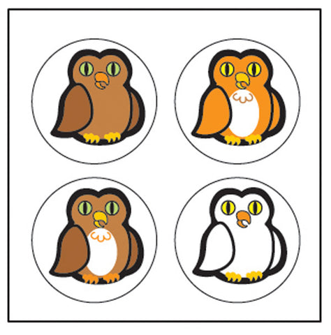Picture of Incentive Stickers -Owl