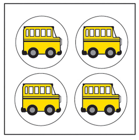 Picture of Incentive Stickers - School Bus