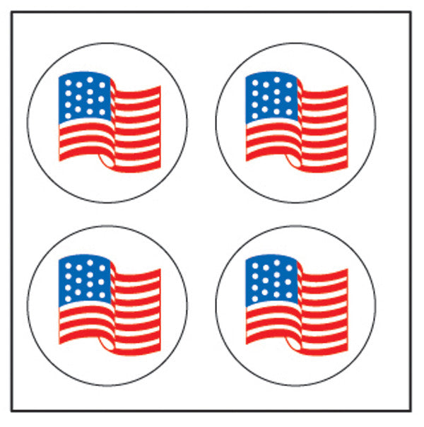 Incentive Stickers - Flag - Creative Shapes Etc.
