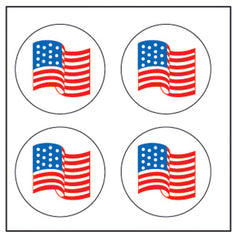 Incentive Stickers - Flag