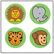 Incentive Stickers - Zoo - Creative Shapes Etc.