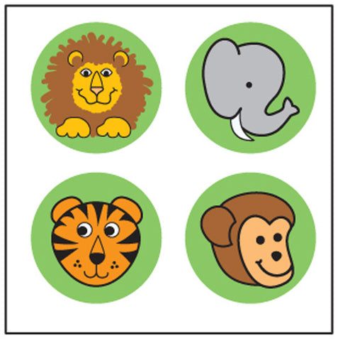 Picture of Incentive Stickers - Zoo