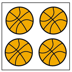 Incentive Stickers - Basketball
