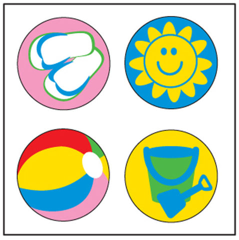 Picture of Incentive Stickers - Beach (SE-2531)