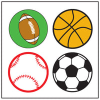 Incentive Stickers - Sports - Creative Shapes Etc.