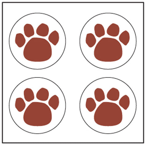 Picture of Incentive Stickers - Paw Print