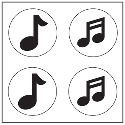 Picture of Incentive Stickers - Music Note