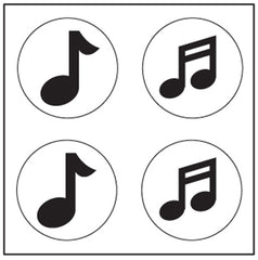 Incentive Stickers - Music Note