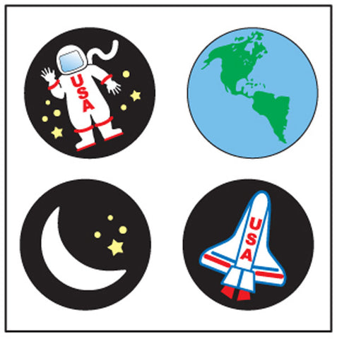 Picture of Incentive Stickers - Space