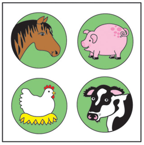Picture of Incentive Stickers - Farm Animal