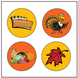 Incentive Stickers - November (Pack of 1728) - Creative Shapes Etc.