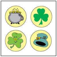 Incentive Stickers - St. Patrick's Theme - Creative Shapes Etc.