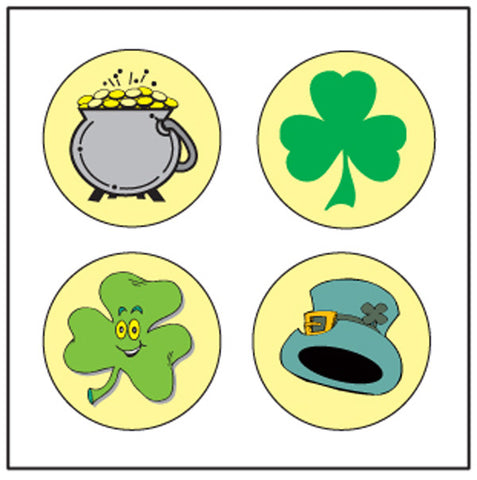 Picture of Incentive Stickers - St. Patrick's Theme