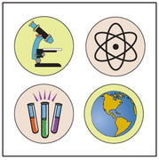 Incentive Stickers - ScienceTheme - Creative Shapes Etc.