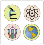 Incentive Stickers - Science Lab (Pack of 1728) - Creative Shapes Etc.