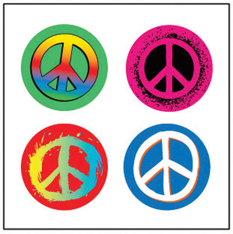 Picture of Incentive Stickers - Peace Theme