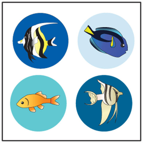 Picture of Incentive Stickers - Aquarium
