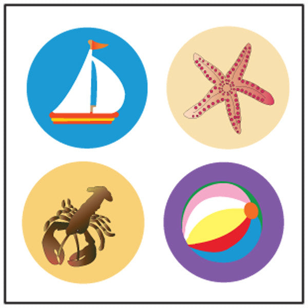 Incentive Stickers - Surf's Up - Creative Shapes Etc.