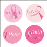 Incentive Stickers - Awareness (Pack of 1728) - Creative Shapes Etc.