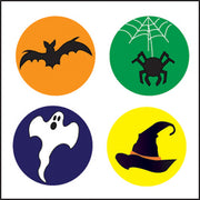 Incentive Stickers - Halloween (Pack of 1728) - Creative Shapes Etc.