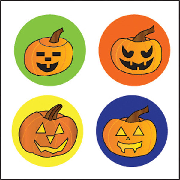 Incentive Stickers - Carved Pumpkins - Creative Shapes Etc.