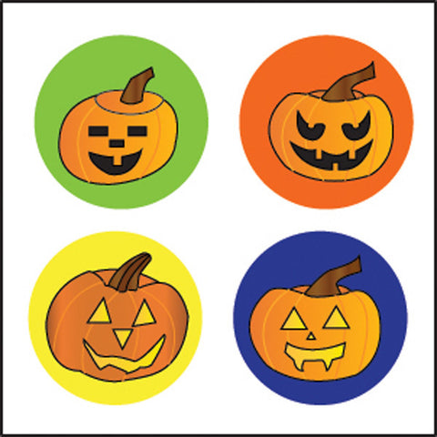 Picture of Incentive Stickers - Carved Pumpkins