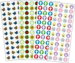 Picture of Easter Sticker Set (SE-2567)