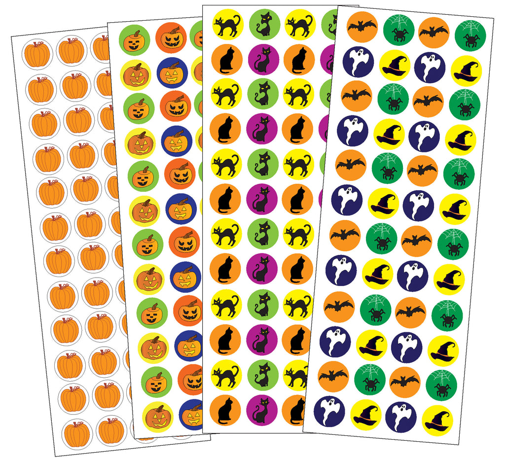 Sticker Set - Halloween - Creative Shapes Etc.