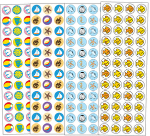 Sticker Set - Beach - Creative Shapes Etc.