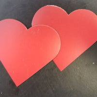Magnets - Small Single Color Heart - Creative Shapes Etc.