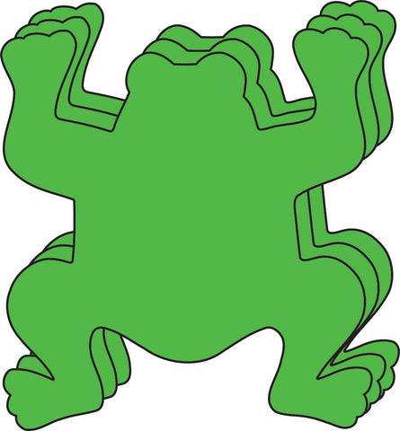 Picture of Small Single Color Creative Foam Cut-Outs - Frog