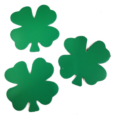 Magnets - Small Single Color Four Leaf Clover - Creative Shapes Etc.