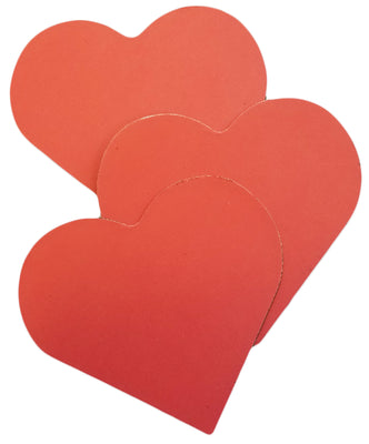 Magnets - Large Single Color Heart - Creative Shapes Etc.