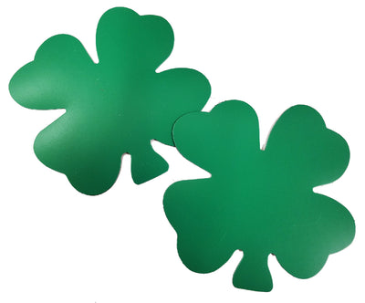 Magnets - Large Single Color Four Leaf Clover - Creative Shapes Etc.