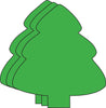 Magnets - Large Single Color Evergreen Tree