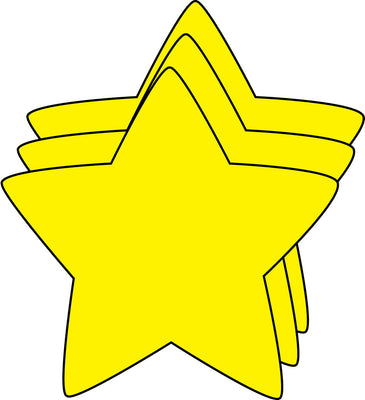 Small Single Color Cut-Out - Star