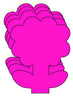 Small Single Color Creative Foam Cut-Outs - Flower - Creative Shapes Etc.