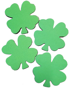 Creative Magnets - Small Single Color Four Leaf Clover - Creative Shapes Etc.