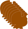 Small Single Color Cut-Out - Turkey - Creative Shapes Etc.