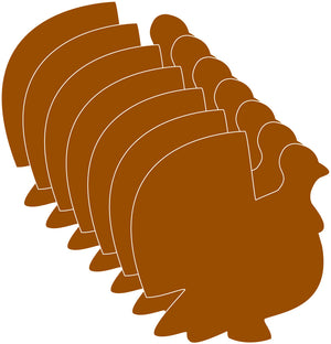 Small Single Color Cut-Out - Turkey