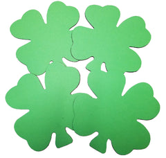 Creative Magnets - Large Single Color Four Leaf Clover