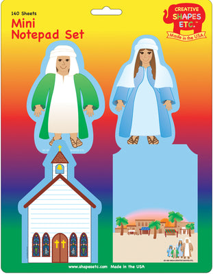 Mini Notepad Set - Holyland