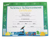 Recognition Certificate - Science Achievement