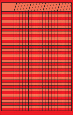 Small Incentive Chart - Red