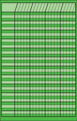 Small Incentive Chart - Green