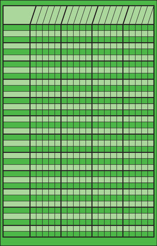 Picture of Small Incentive Chart - Green