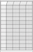 Small Incentive Chart - White